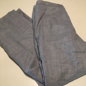Pendleton Wool Grey Trouser Work Pants Lined 12